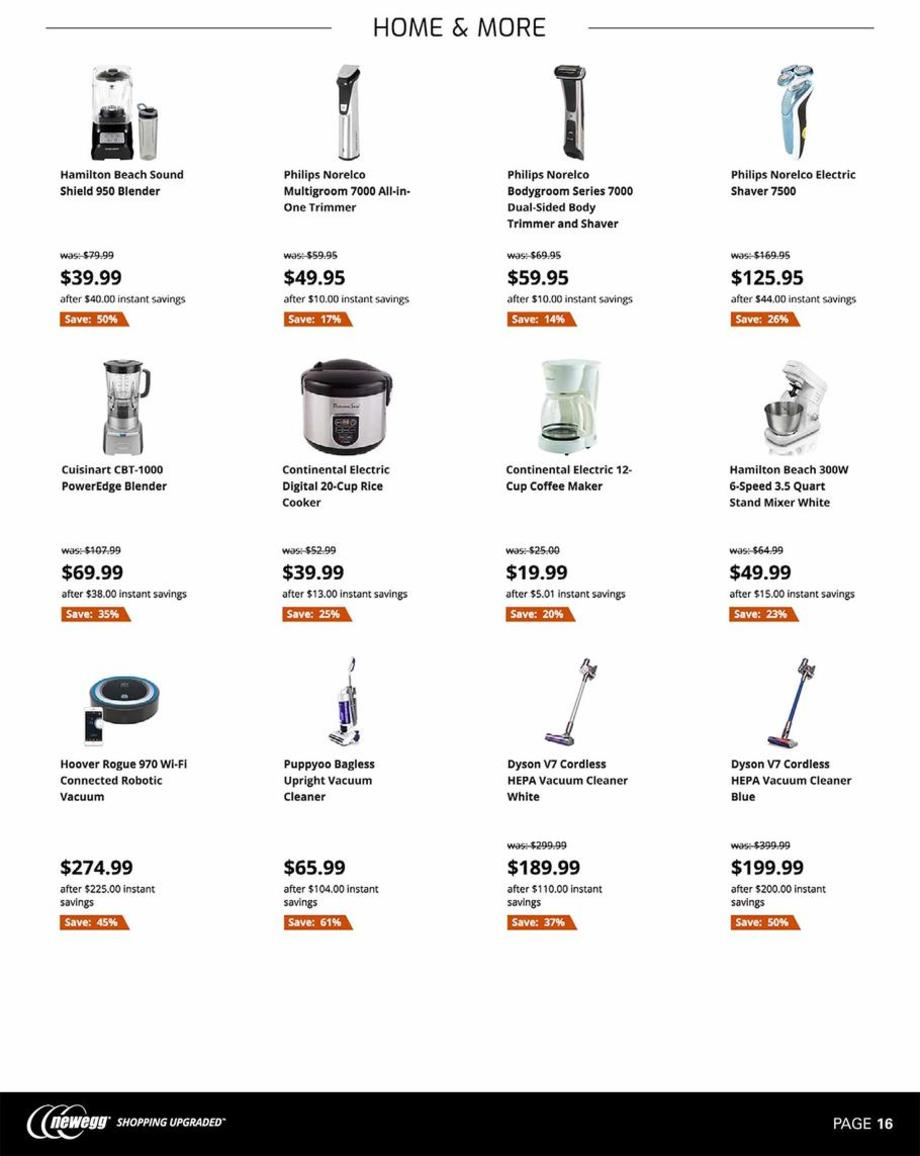 Newegg Black Friday page 16
